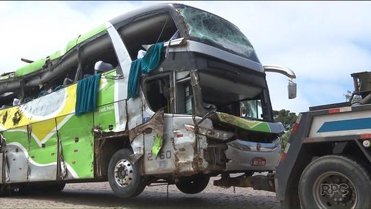 Vítima de acidente com ônibus na BR-376 é velada em Guarapuava