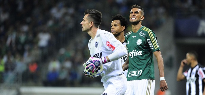Victor Palmeiras x Atlético-MG (Foto: Marcos Ribolli)