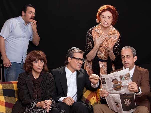 Ary França, Danton Mello, Flávia Garrafa e Luciano Gatti também estão no elenco (Foto: Divulgação)