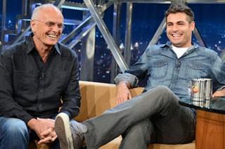 Jô entrevista Thiago Lacerda (Foto: TV Globo)