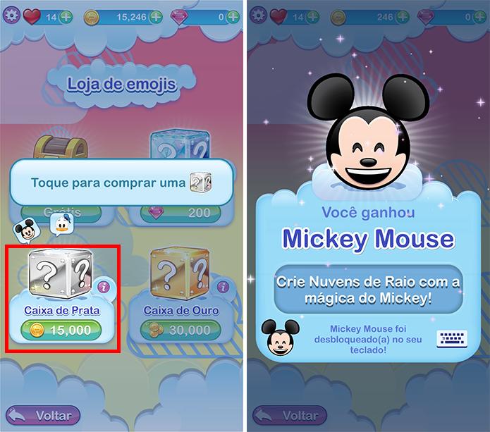 Libere mais emojis no decorrer do jogo (Foto: Reprodução/Paulo Alves)