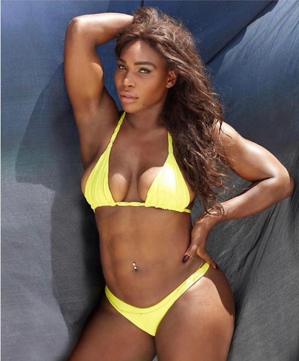 A tenista Serena Williams (Foto: Instagram)