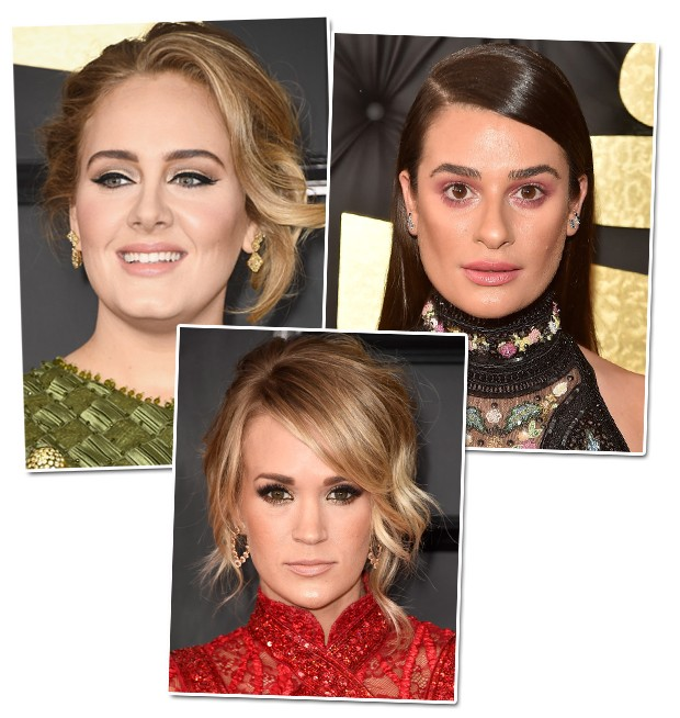 Adele, Lea Michele e Carrie Underwood (Foto: Getty Images)