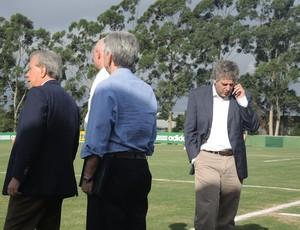 Paulo Nobre treino Palmeiras (Foto: Rodrigo Faber)