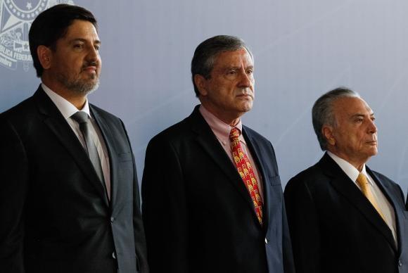 Fernando Segóvia toma posse como novo diretor-geral da Polícia Federal