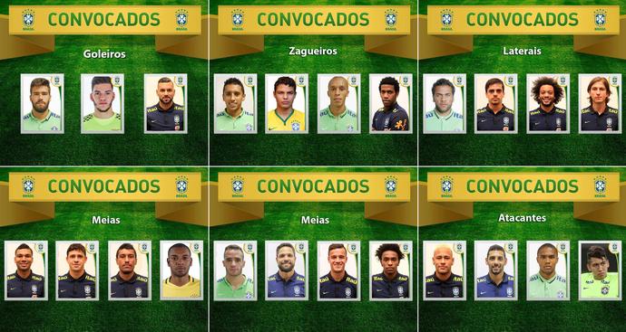 Convocação seleção brasileira (Foto: Reprodução/Twitter)
