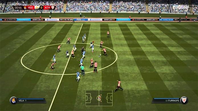 Bug em Fifa 15 faz os atletas jogarem como se fossem crianças (Foto: Examiner)