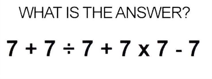 A resposta não é tão simples quanto parece! (Foto: Reprodução)