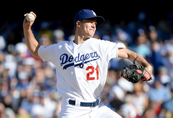 Zack Greinke, Los Angeles Dodgers, beisebol (Foto: Getty Images)