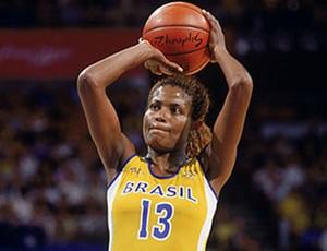 Alessandra Oliveira Basquete mundial 1994 (Foto: Divulgação / CBB)