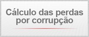Cálculo das perdas por corrupção (Foto: G1)