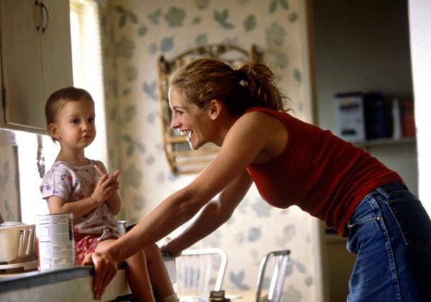 Julia Roberts como Erin Brockovich, em 2000 (Foto: Getty Images)