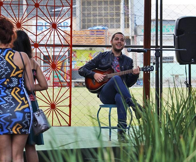 Jammil grava participação especial em 'I Love Paraisópolis' (Foto: Ariane Ducati/Gshow)