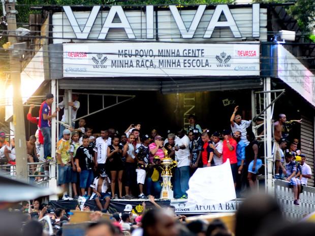 festa Vai-Vai troféu Bixiga (Foto: Flavio Moraes/G1)