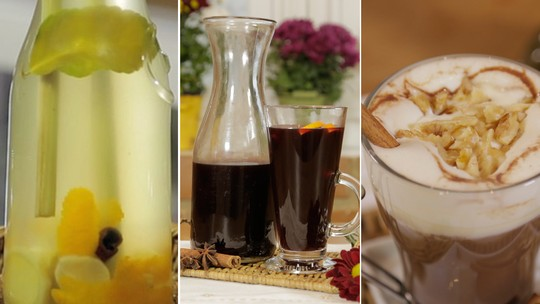 Prepare três bebidas típicas de Festa Junina