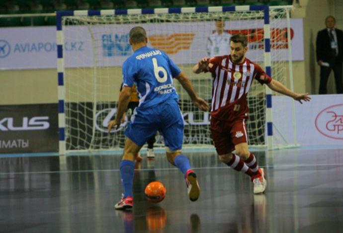 Dínamo Orlândia Copa Intercontinental Futsal 2014 (Foto: Divulgação )