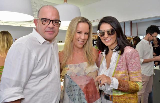 Giovanni Frasson, Renata Campos e Alice Ferraz (Foto: Divulgação)