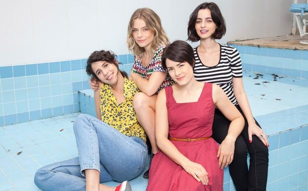 s garotas elenco (Foto: Juliana Coutinho)
