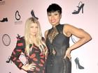 Fergie e Jennifer Hudson usam vestidos sexy em evento nos EUA