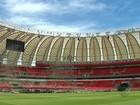 Palco dos Rolling Stones toma forma em Porto Alegre; veja imagens