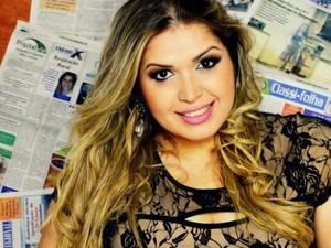 Ana Maria Carrijo é a candidata de MT do Miss Brasil Plus Size (Foto: Reprodução/Facebook)