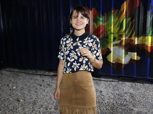 Bianca Comparato em festa na Zona Sul do Rio (Foto: Felipe Assumpção/ Ag. News)