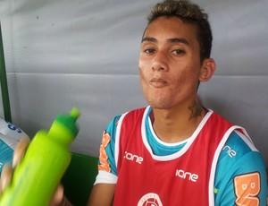 Thiago, volante da Desportiva (Foto: Bruno Marques/Globoesporte.com)