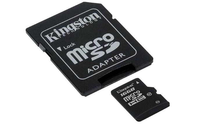 Cartão micro SD tem suporte no Galaxy S7 em até 200 GB (Foto: Divulgação/Kingston)