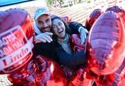 André Collini, da Big Time comemora 1º Dia dos Namorados com Camila (Foto: Reprodução/RPC)