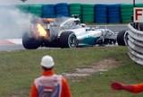Carro de Hamilton pega fogo, Rosberg desbanca Vettel e é pole. Massa é 6º