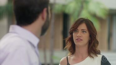 Ana Luiza descobre esquema de Hércules contra Salete e o enfrenta