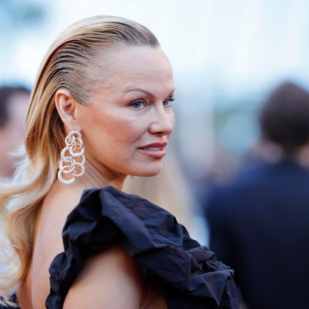 Pamela Anderson em Cannes (Foto: Getty Images)