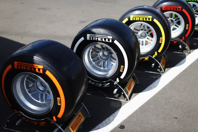Pneus Pirelli (Foto: Getty Images)
