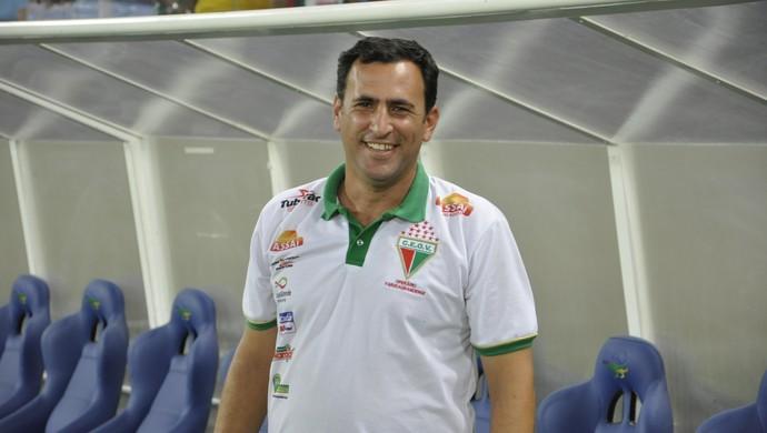 Treinador Eduardo Henrique do Operário CEOV (Foto: Robson Boamorte)