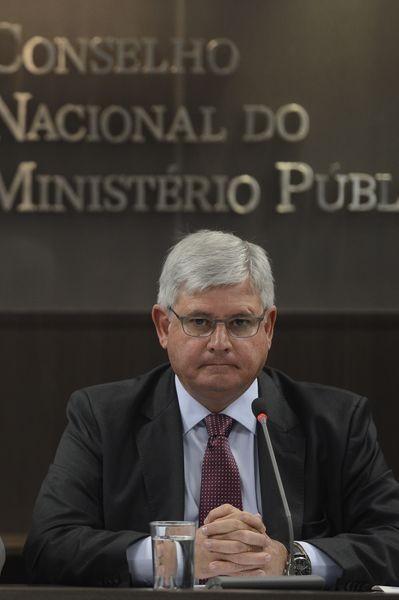 O procurador-geral da Justiça, Rodrigo Janot (Foto: Elza Fiuza/Agência Brasil)