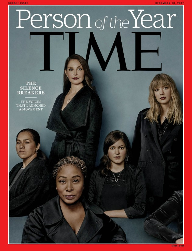 "Capa da revista Time ""Person of The Year 2017"" (Foto: Reprodução)"