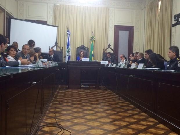 Cúpula da segurança do Estado do Rio de Janeiro não participa de audiência pública na Alerj (Foto: Gabriel Barreira/ G1)