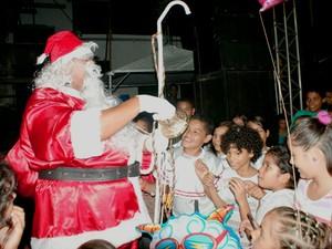 Programação no Largo dos Inocentes terá chegada do Papai Noel (Foto: Divulgação)