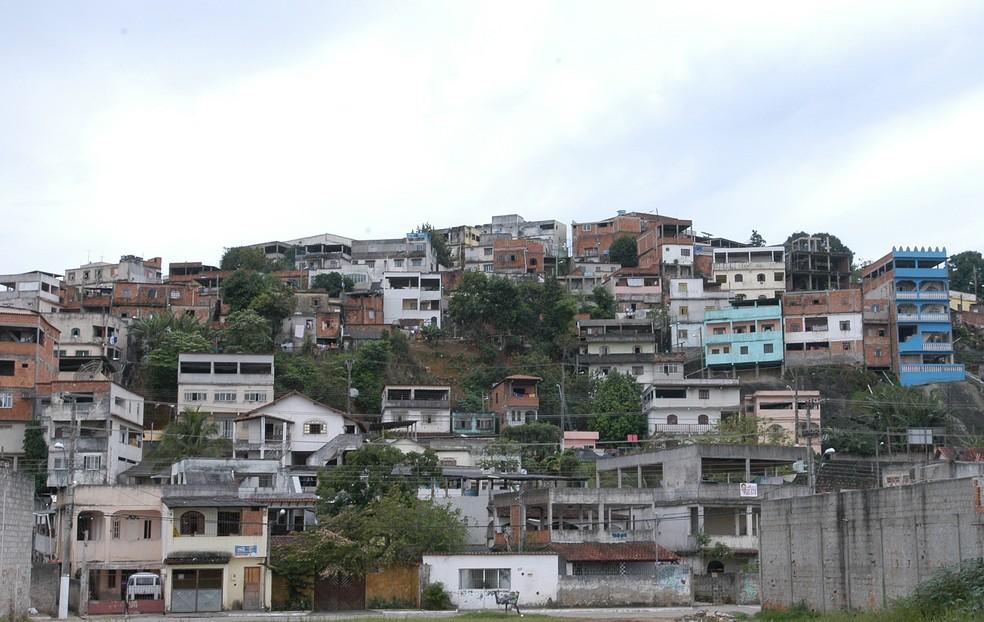 Morro do Alagoano, em Vitória (Foto: Carlos Alberto da Silva / Arquivo de A Gazeta)
