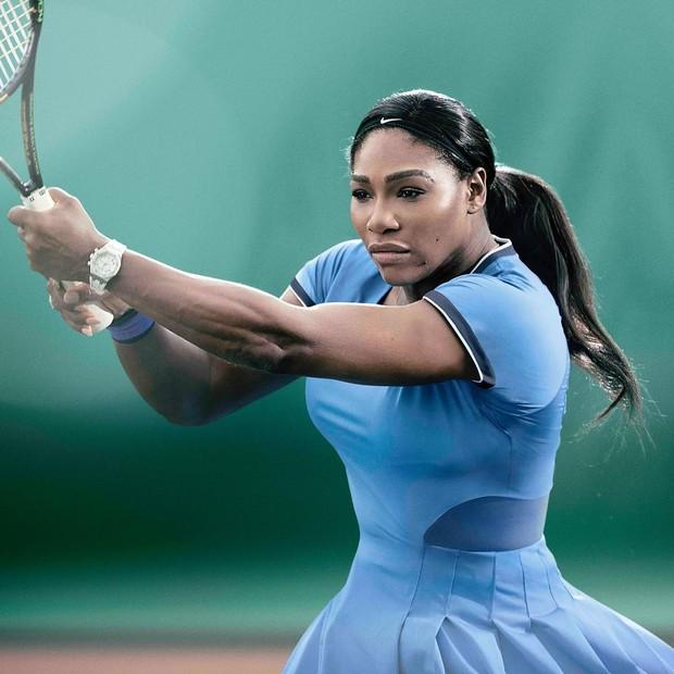 Serena Williams foi uma das atletas que mais apareceram nos intervalos da TV aberta em São Paulo e no Rio de Janeiro, entre 5 e 21 de agosto (Foto: Reprodução do Instagram)