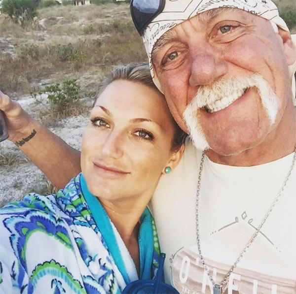 Brooke Hogan Ellen e Hulk Hogan (Foto: Instagram)