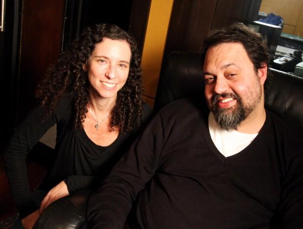 A diretora Daniela Broitman e o músico Marcelo Yuka (Foto: Divulgação)