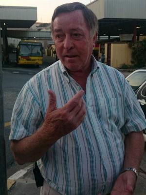 Pai de Fernanda afirma que ela está se recuperando (Foto: Marcus Vinícius Souza/G1)