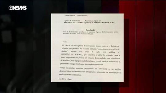 Justiça proíbe avaliação compulsória de dependentes na Cracolândia, em SP