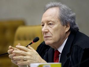 O relator do mensalão, Ricardo Lewandowski, que propôs revisão das multas (Foto: Fellipe Sampaio/SCO/STF)