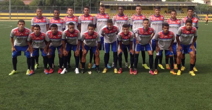 Piauí; Sub-19; Copinha; são paulo (Foto: reprodução/Facebook)