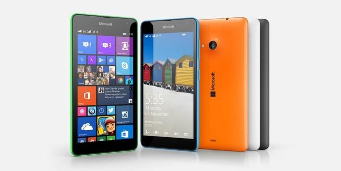 Saiba todos os pontos fortes e fracos do Lumia 535 (Foto: Divulgação/Microsoft)