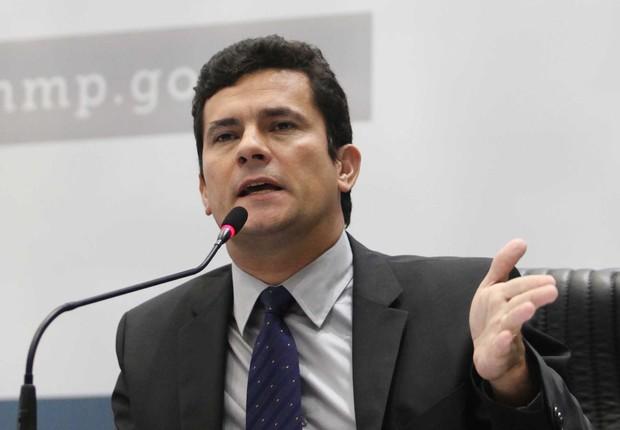 O juiz federal Sérgio Moro , responsável pela Operação Lava Jato (Foto: Gil Ferreira/Agência Brasil)