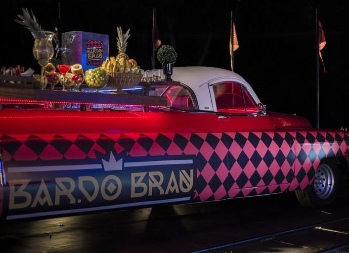 Brau vai montar bar dentro de um Cadillac (Foto: Globo/Caiuá Franco)