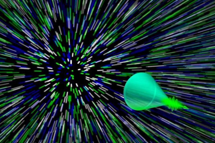 Câmera captura movimento da luz com gravação de 100 bilhões fps (Foto: Divulgação/Universidade de Washington)